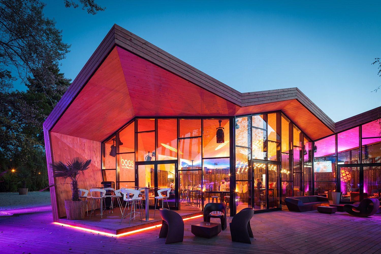 Exquisite ambiance of Boos Beach Club Restaurant