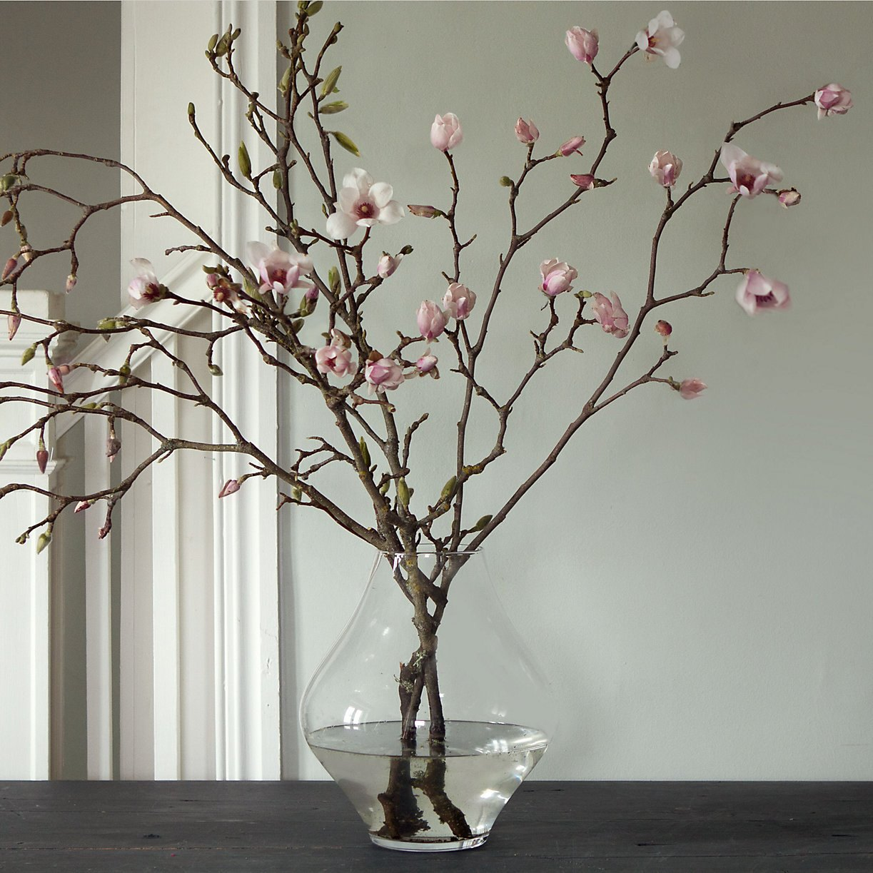 Flowering branches are festive and elegant