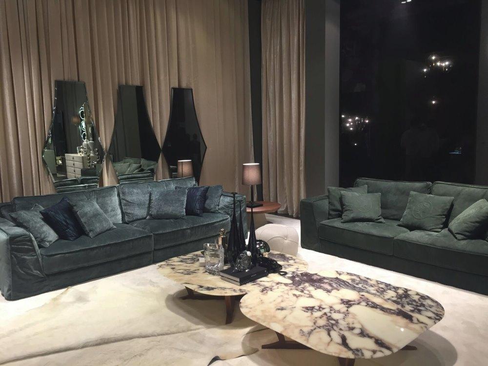Grey Italian seating by Alberta