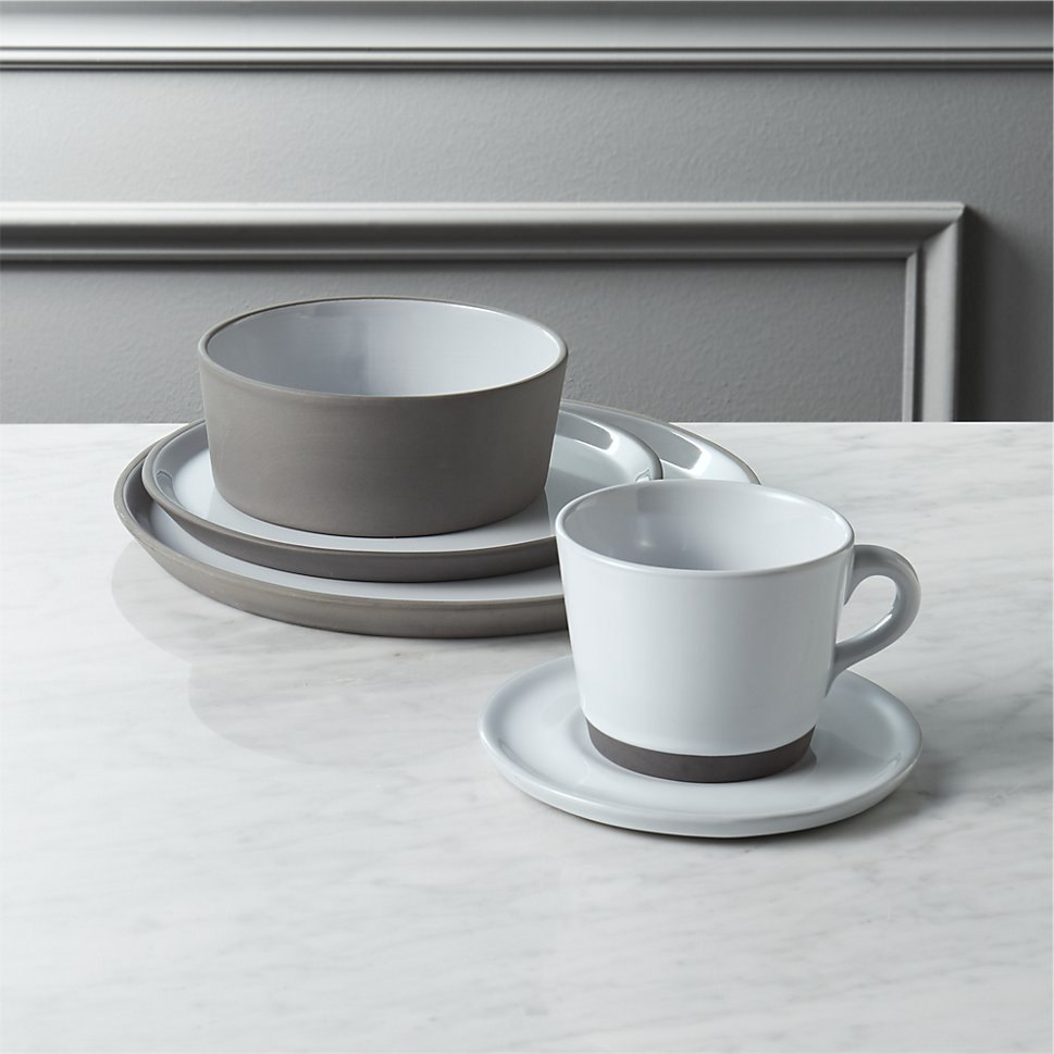 Grey stoneware from CB2