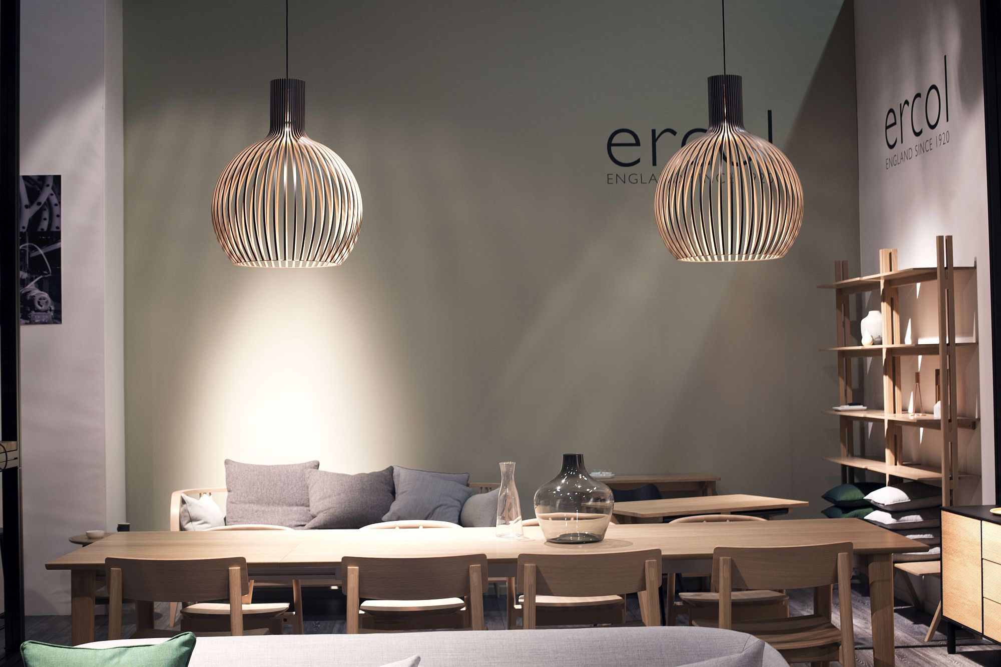 Lighting and decor from Ercol at MM Cologne 2017