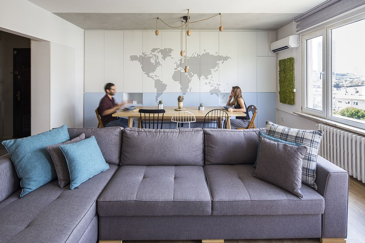 Personalized for a Young Couple: Ergonomic Levent House in Istanbul