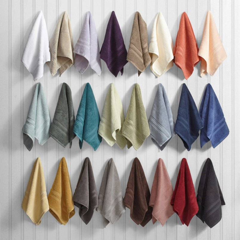 Micro cotton towels from Wamsutta