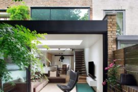 Chic and Sensible Makeover of Lovely Brick Cottage from the 1800s in London