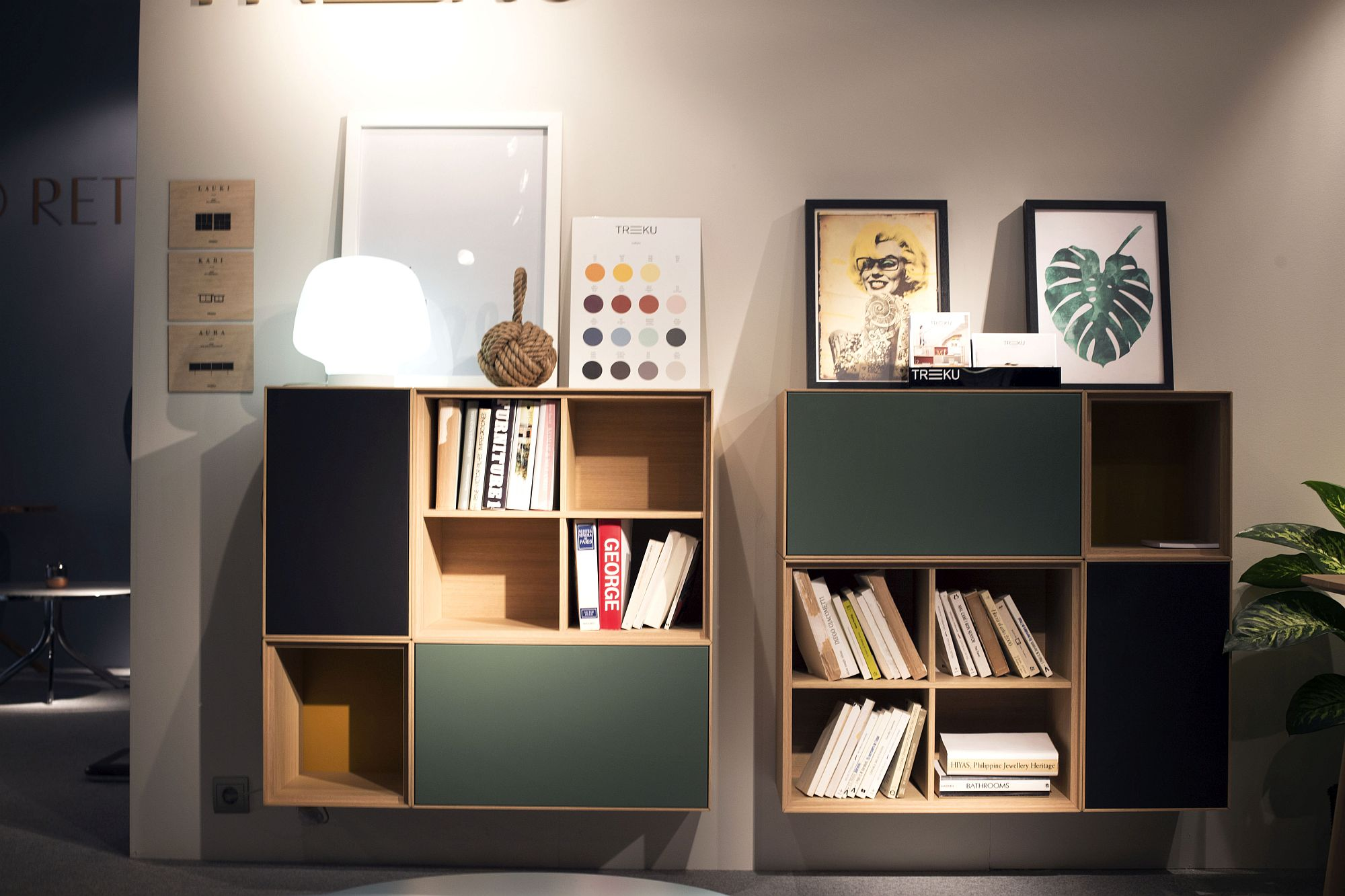 Modular file cabinets and storage units for the ergonomic office