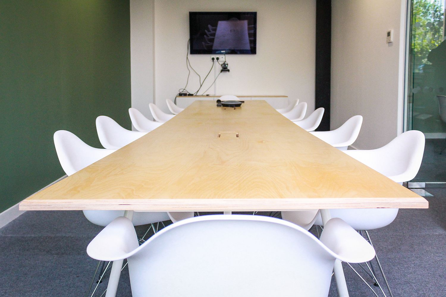 More formal conference rooms inside the Seedrs office