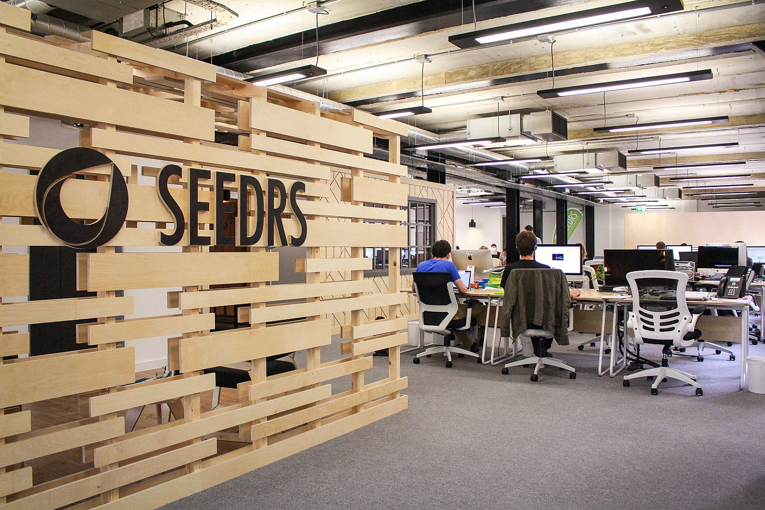 Office design in London moves away from boring old cubicles
