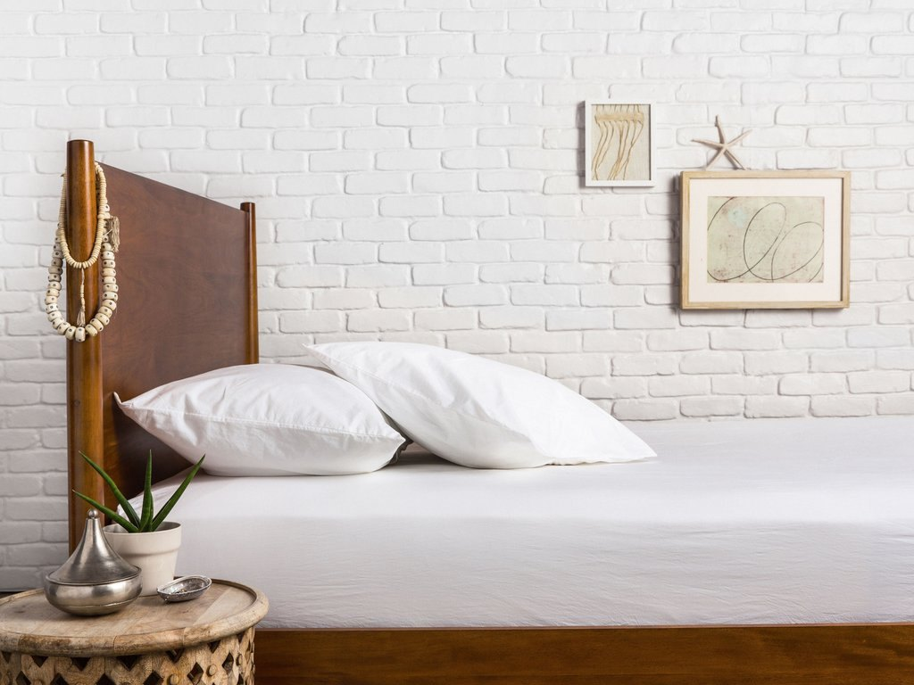 Percale sheet set from Parachute