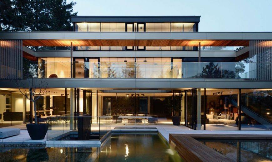 All About the Outdoors: Energy-Efficient Multi-Level Home in Vienna