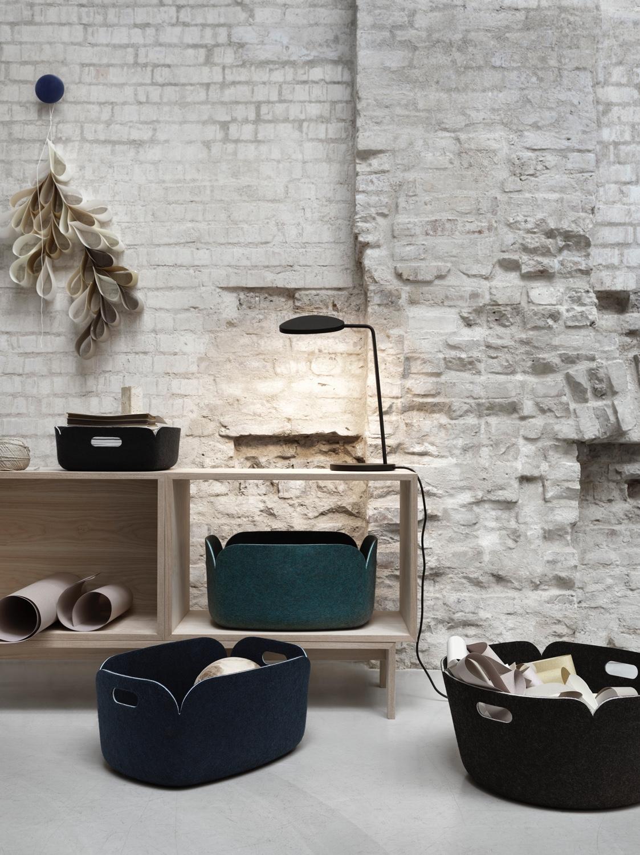 RESTORE tray, basket and round basket