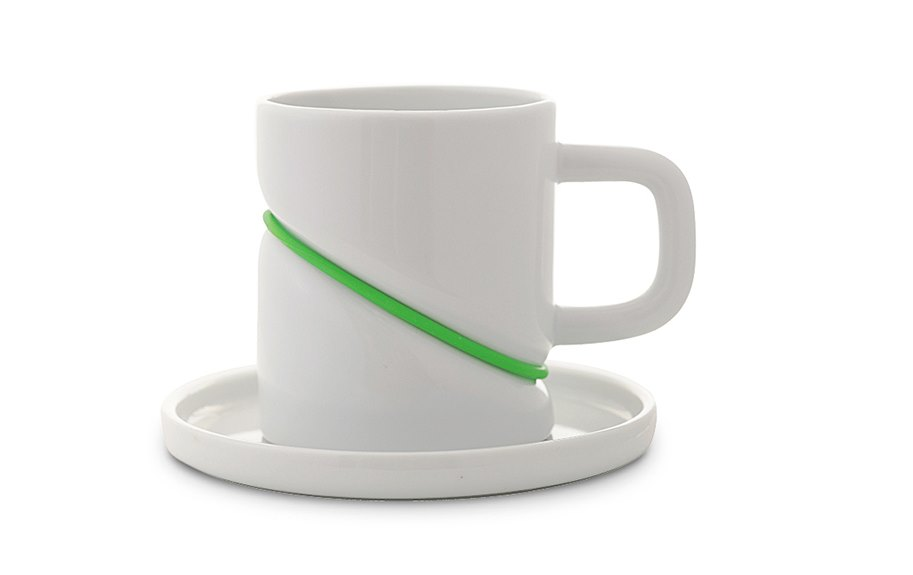 RUBBERBAND tea cup