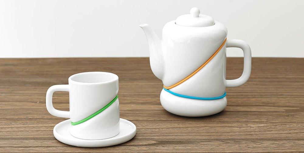 RUBBERBAND tea items