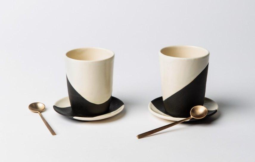 Shift Porcelain tea cups