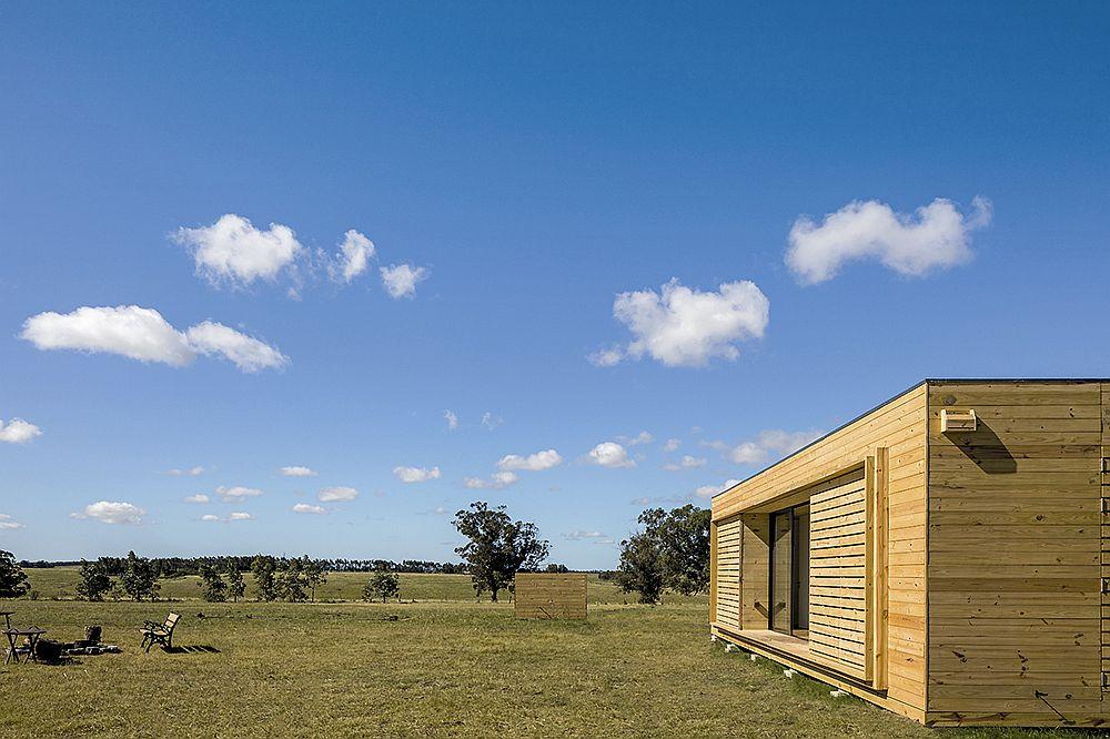 Small prefab home in Uruguay