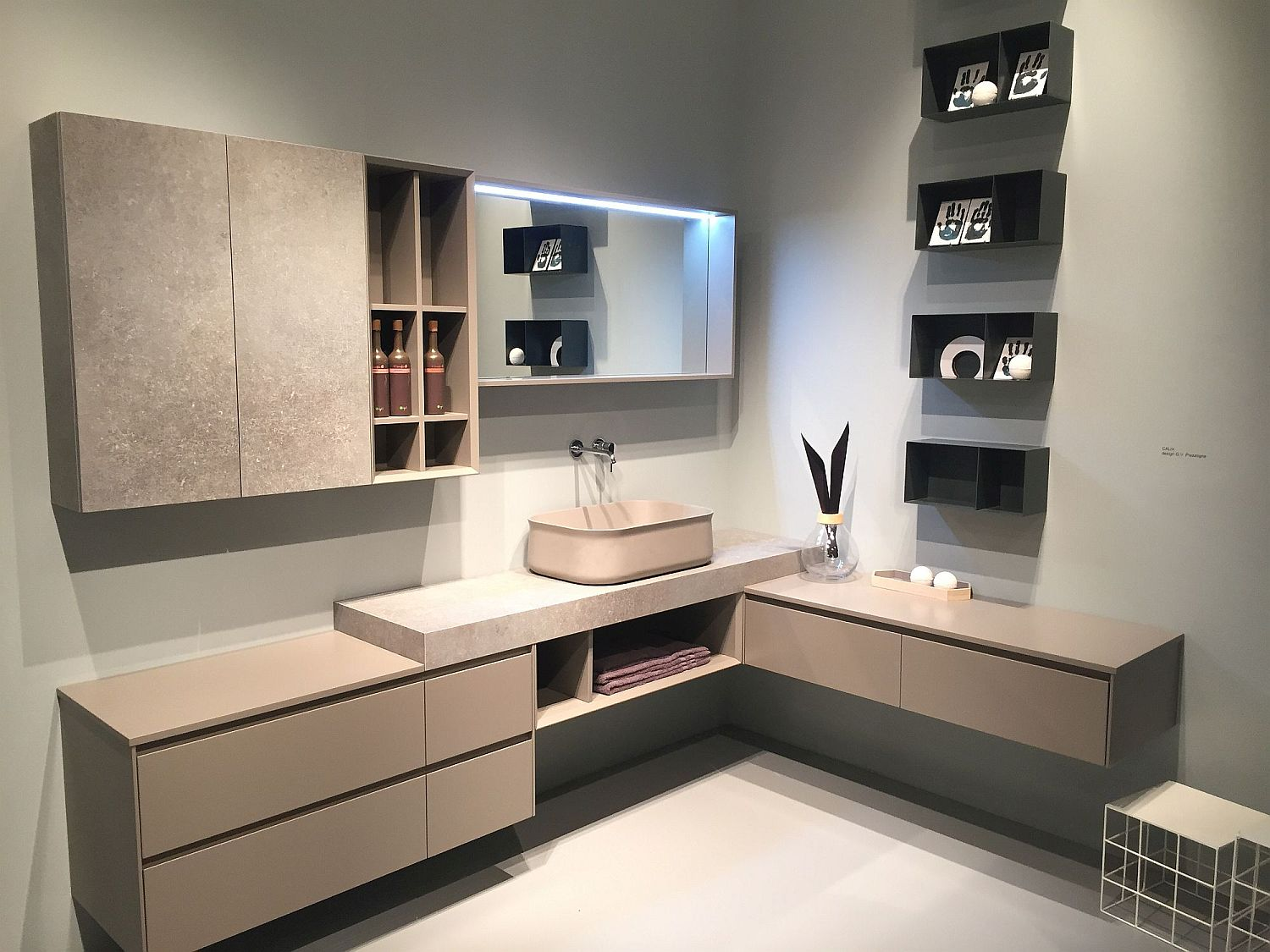Vanity Contemporary Bathroom Cabinets Exquisite Contemporary Bathroom Vanities with Space-Savvy Style