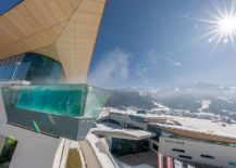 Stunning-mountain-views-from-the-Skyline-pool-with-glass-walls-at-Tauern-Spa-Hotel-Therme-217x155