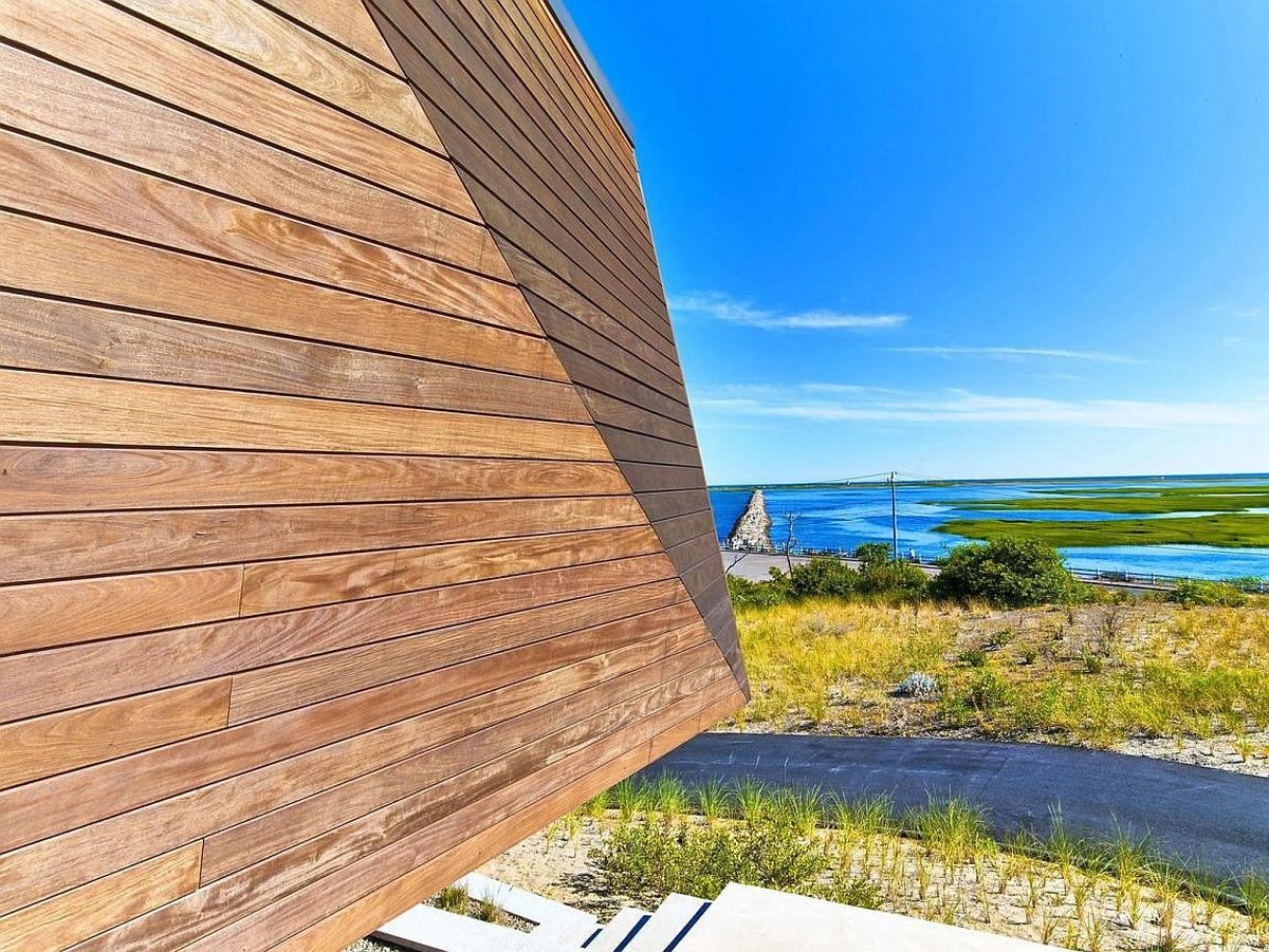 Stunning views of cape cod and the blue beyond at the beach house