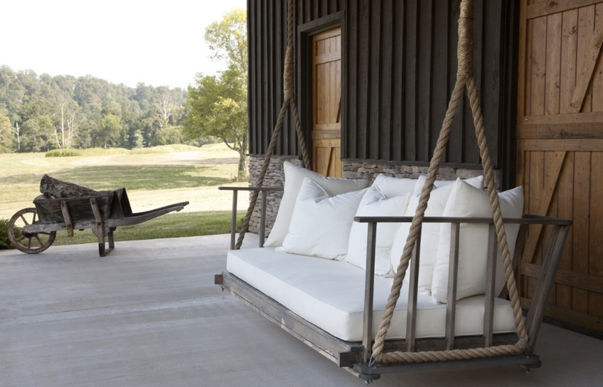 porch daybed plans getting ready for summer enliven your porch with comfy swings
