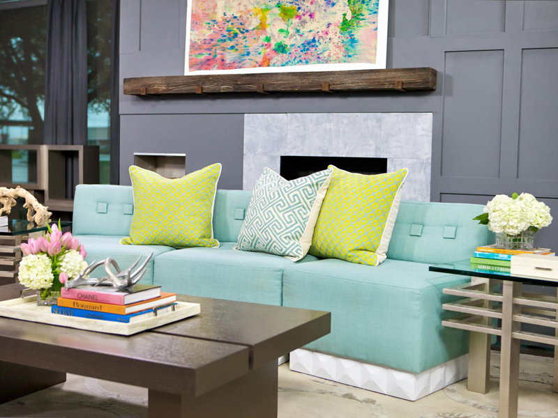 Mint Furniture As The Ideal Pastel Element
