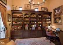 A-spacious-rustic-home-office-with-a-smaller-desk--217x155