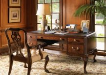 Antique-home-office-with-an-incredible-vintage-desk--217x155