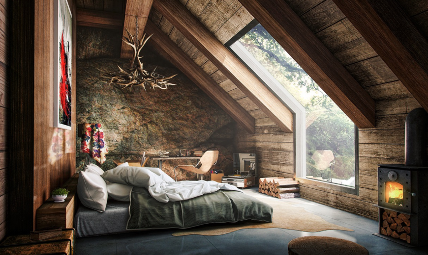 & Comfortable and Cozy: 30 Attic Apartment Inspirations