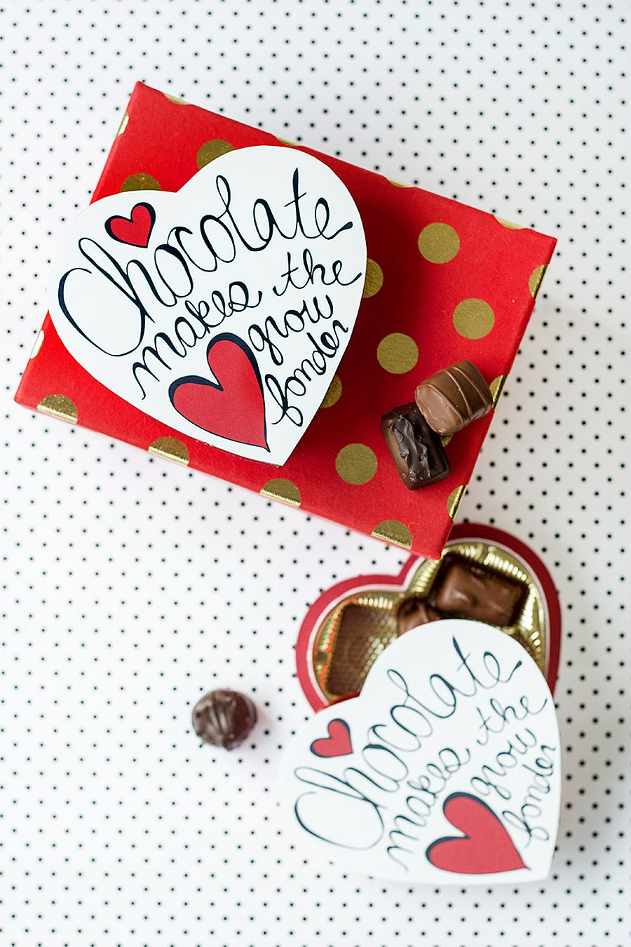 Awesome DIY Valentine's Day Chocolate Box design