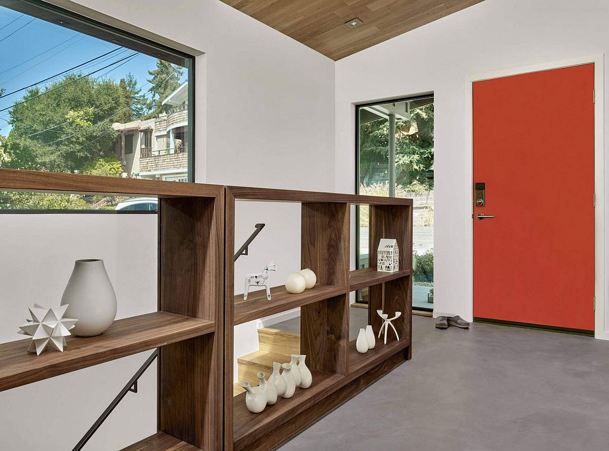 Bright and colorful doors a hot trend