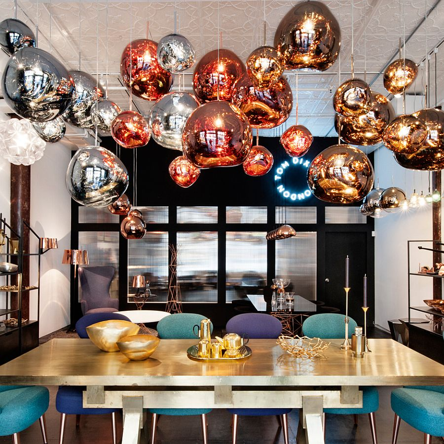 Bring-metallic-dazzle-to-your-home-with-the-Melt-pendant-light