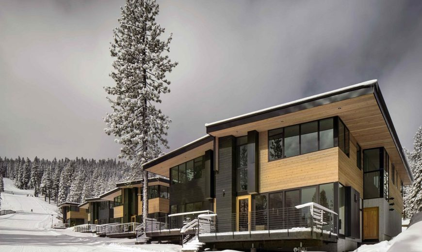 Eco-Friendly Mountainside Homes Reimagine the Classic Ski Chalet