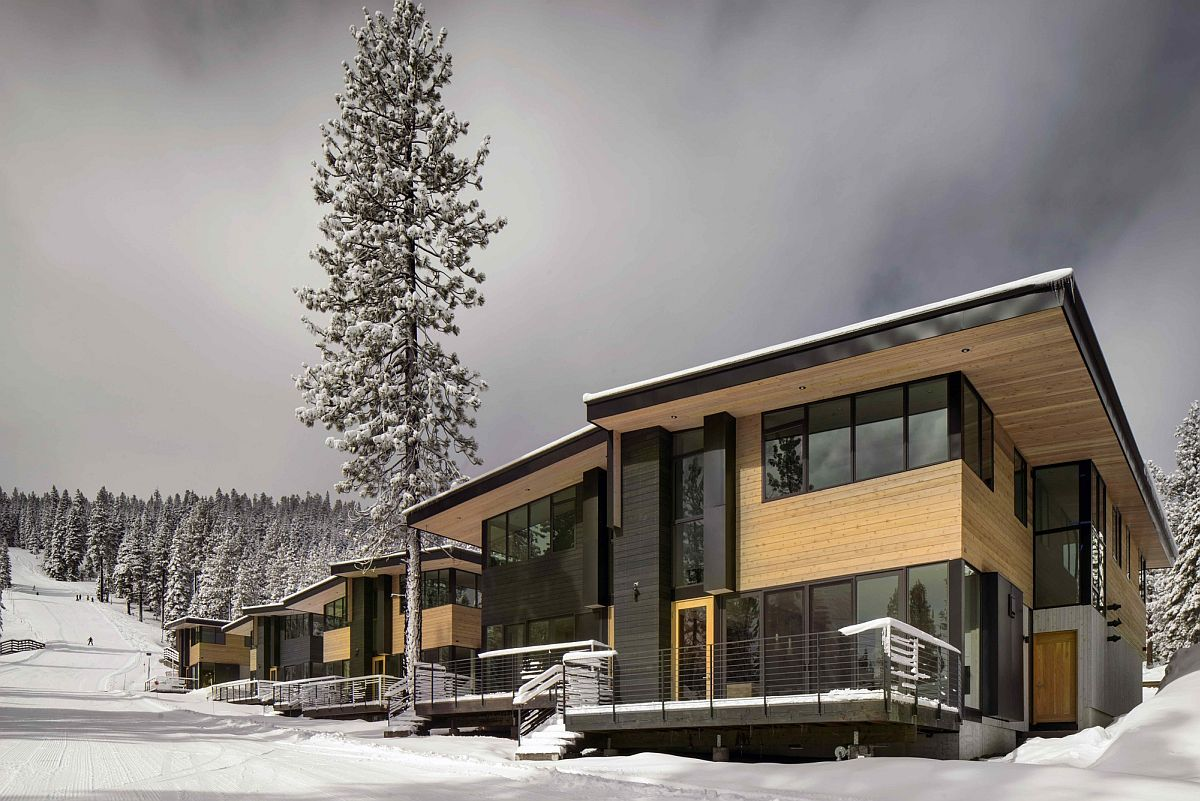 Eco Friendly Mountainside Homes Reimagine The Classic Ski