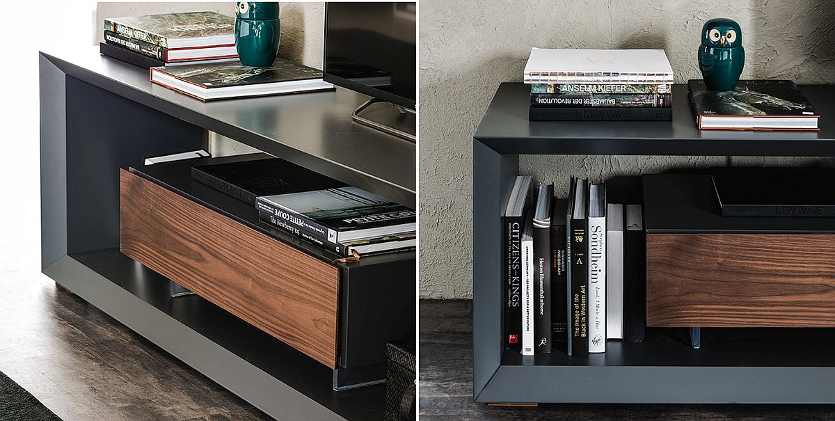 Closer look at the BOXER TV Unit