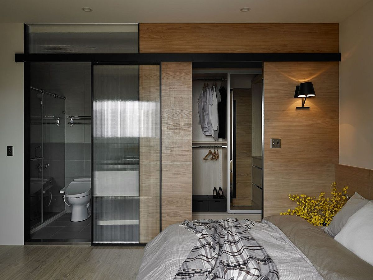 Compact bathroom that is attached with the bedroom