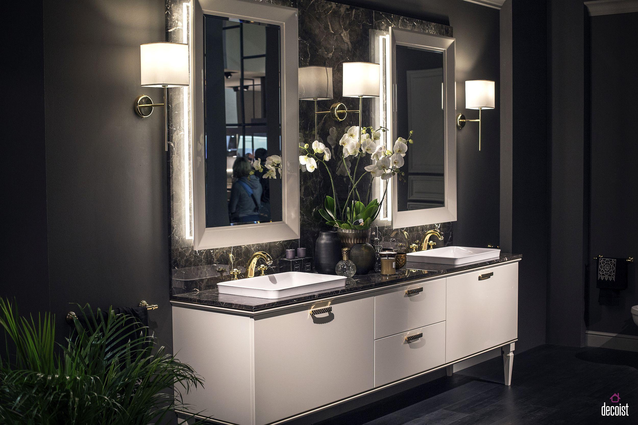 Contemporary bathroom design from Scavolini