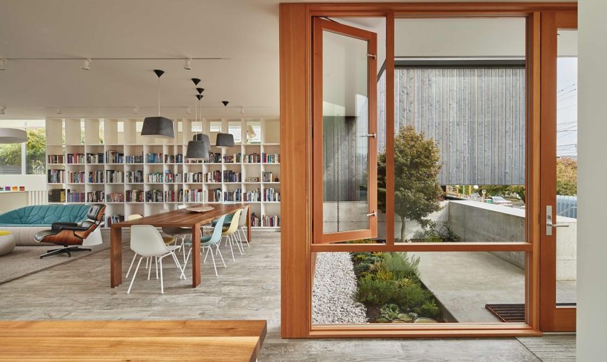 Comfort, Ingenuity and Connectivity with the Outdoors: Artist Residence in Seattle