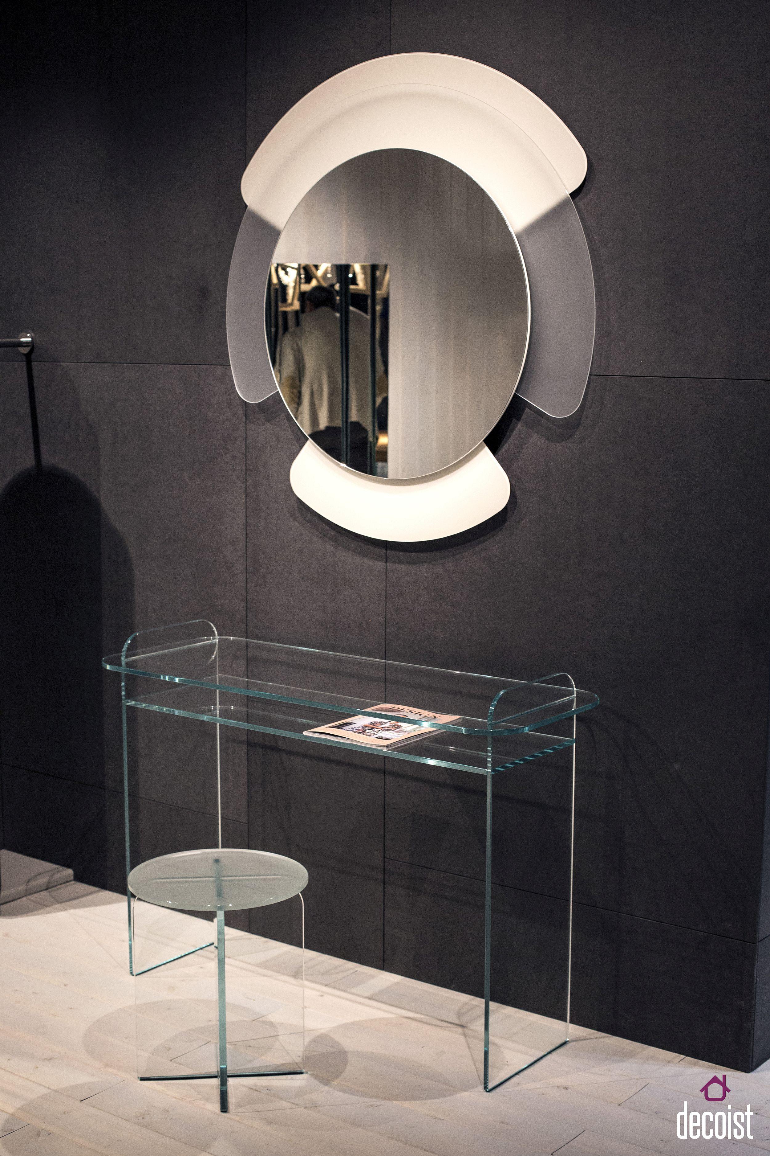 Creative glass decor and mirrors from Tonelli Design