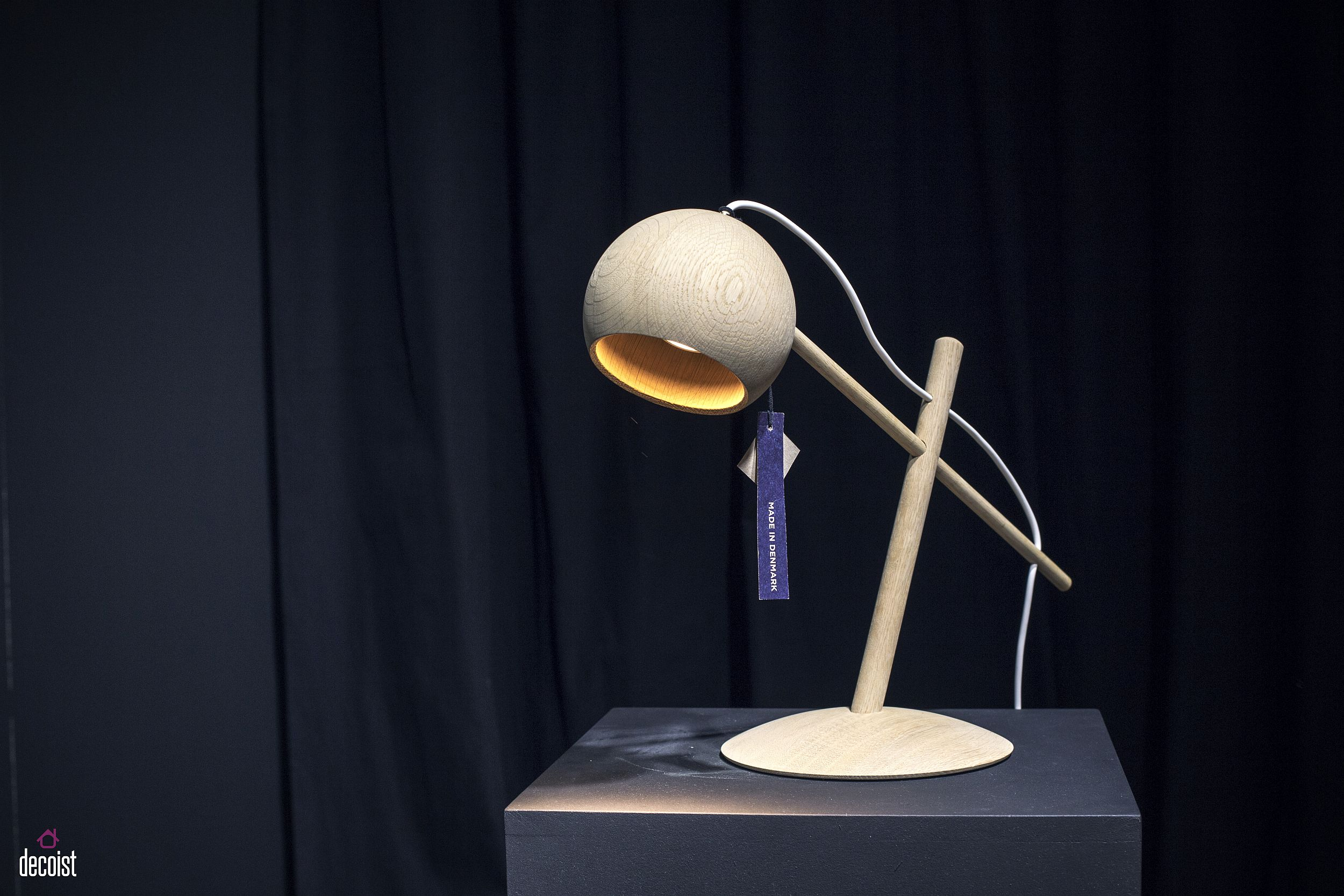 Dashing Lune Lamp from Brdr. Krüger brings mid-century modern Danish deisgn to contemporary homes