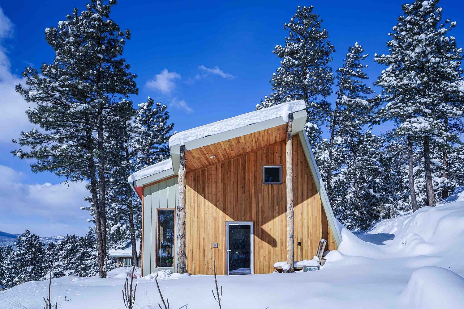 Energy efficient passive house in Colorado Rocky Mountains Colorado's First International Passive House Inspired by Japanese Design