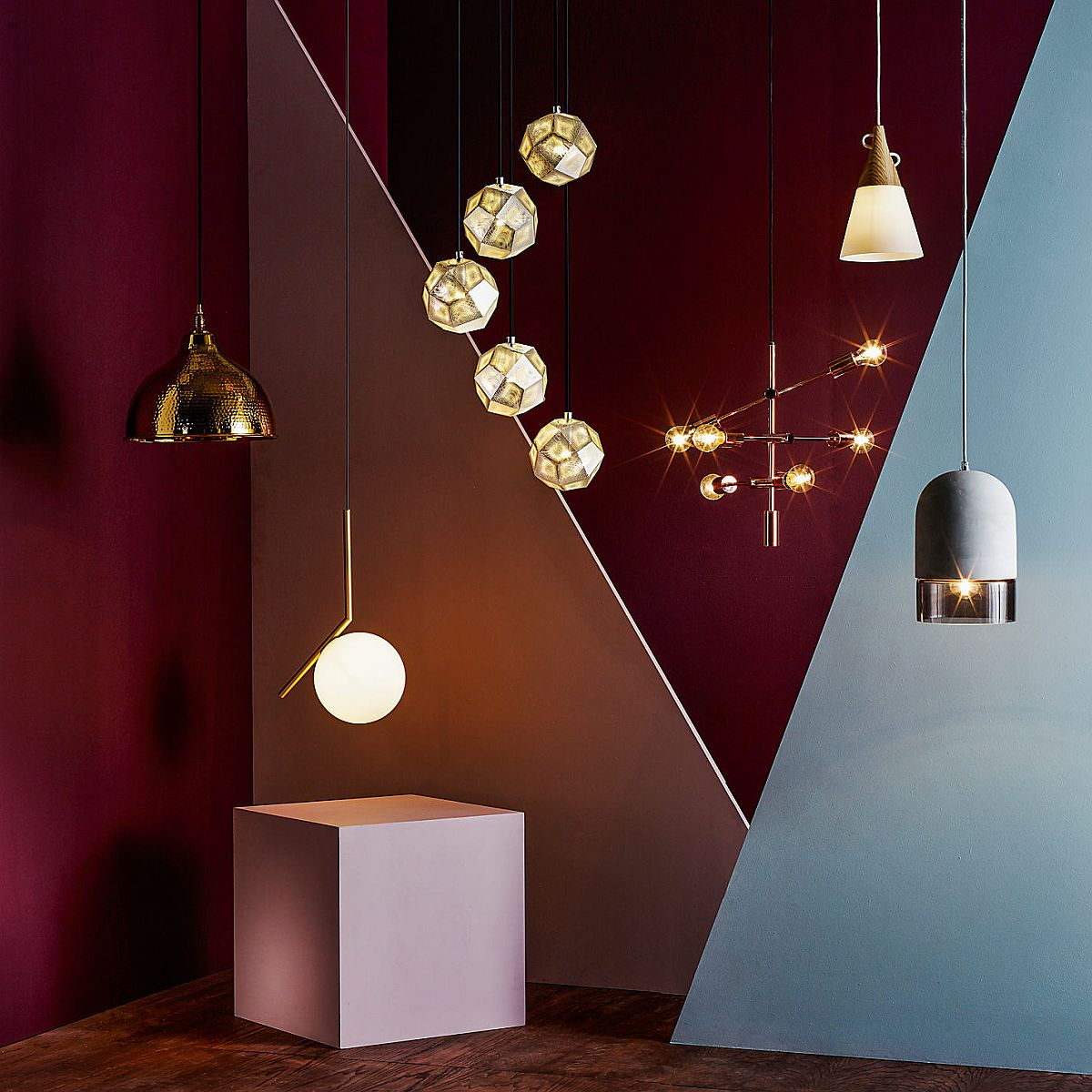 Exqusite pendant lights from Tom Dixon
