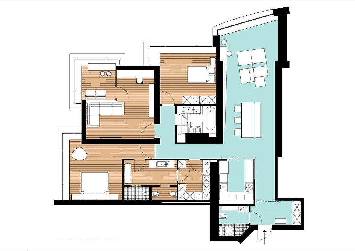 Floor-plan-of-minimal-apartment-in-Kiev