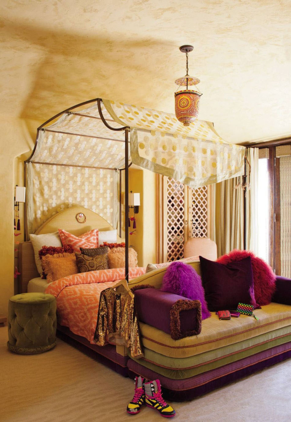 Latest Bohemian Bedroom Inspiration Four Poster Beds With Boho Chic Vibes  With Four Poster Bed Without Canopy.