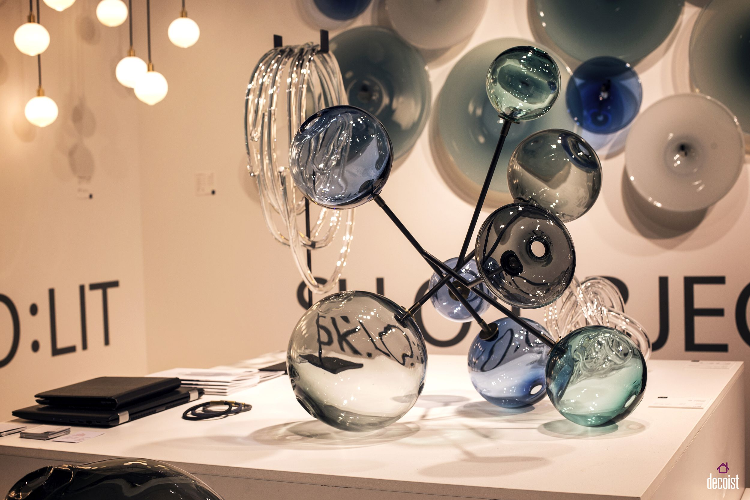 Glass gives pendant lights a whole new look!