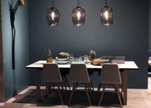 Gorgeous-glass-pendants-steal-the-show-in-this-dining-room-setting-217x155