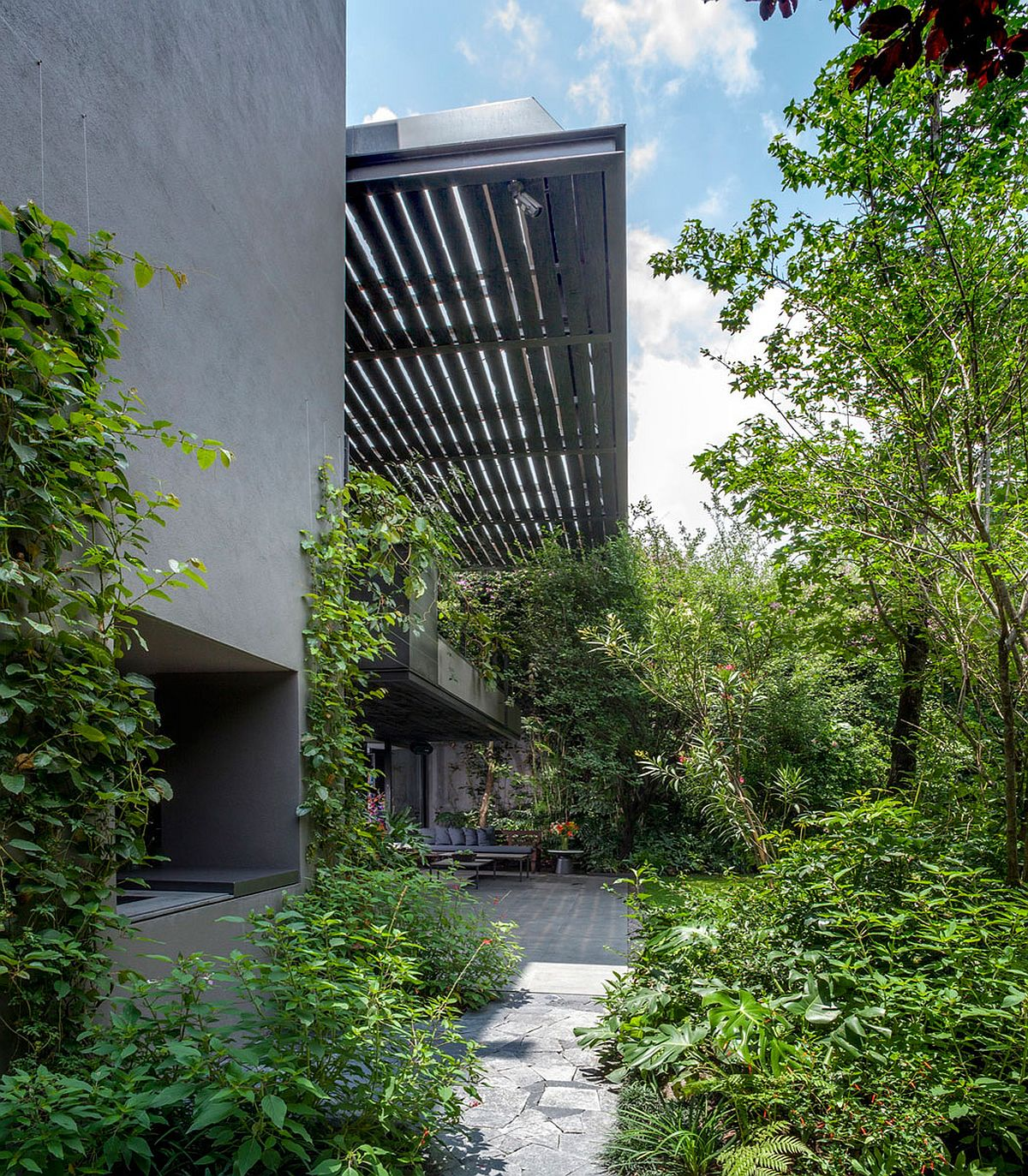 Greenery-shapes-a-beuatiful-and-relaxing-courtyard
