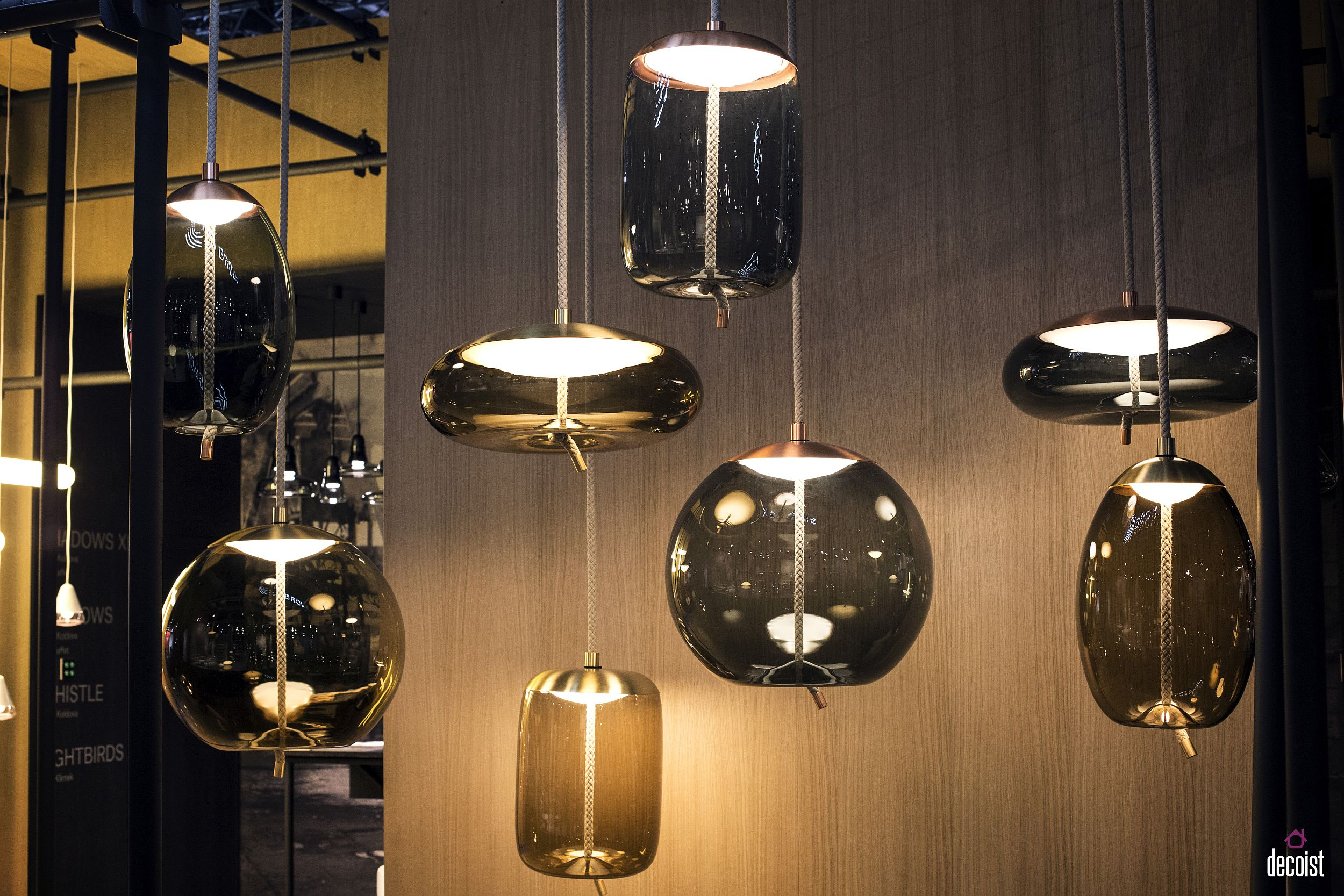 Handmade bohemian glass pendants crafted to perfection Novel Trends: 75 Dazzling Lighting Ideas to Fall in Love With