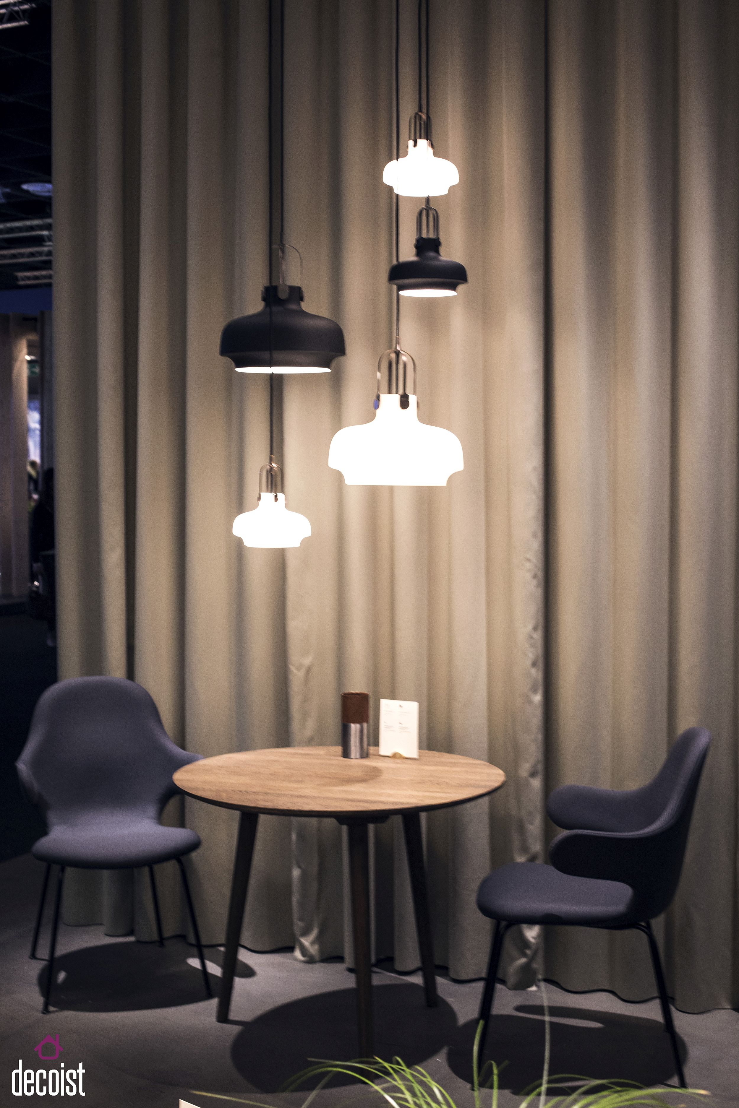 Innovative pendant lights from &tradition