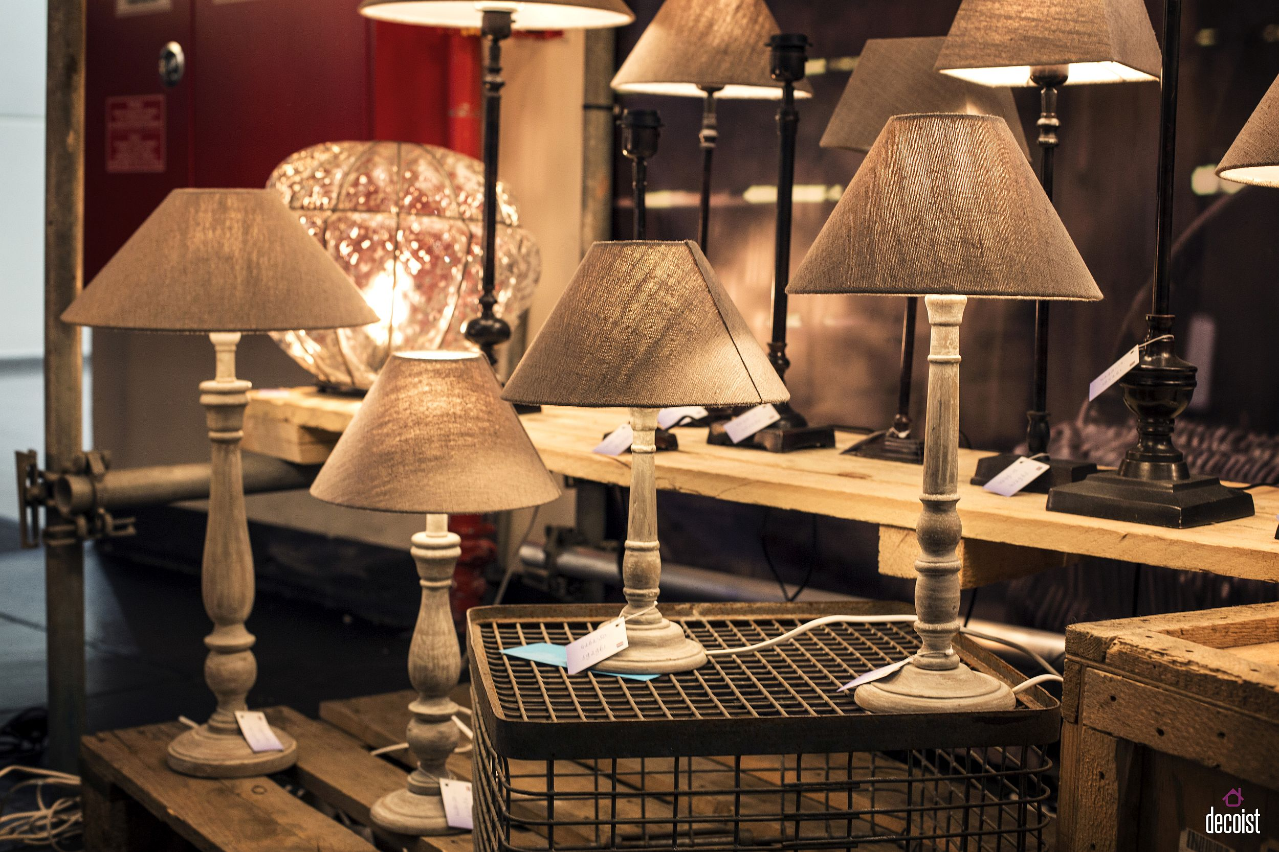 Innovative table lamps and bedside lighting from Masterlight