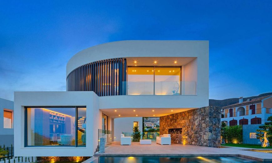 casa finestrat contemporary spanish home with chic mediterranean charm