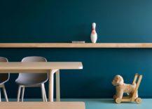 Minimal-floating-shelf-and-sleek-dining-table-inisde-the-Kiev-apartment-217x155