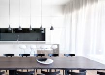 Minimal-kitchen-and-dining-room-in-white-black-and-gray-217x155